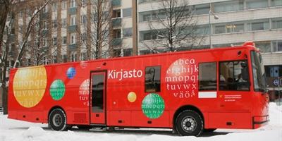 Kirjastoauto Tampere
