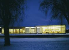 Rauma City Library, Main Library / Photograph by Voitto Niemelä, 2004